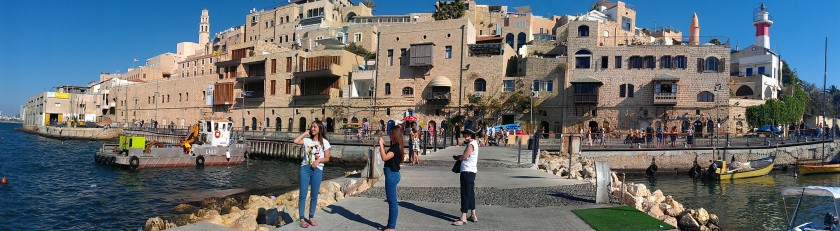 The ancient port of Jaffa